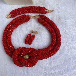 Hand made beads jewelry